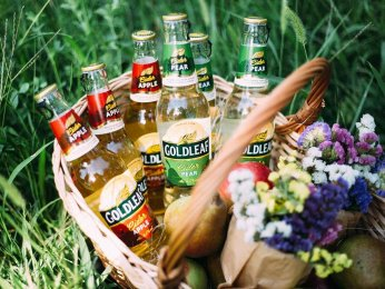Goldleaf - the First Moldovan Cider from Efes Moldova Company