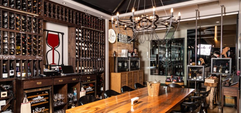 Винотеки Кишинева: Taste of Blu Wine House and Shop